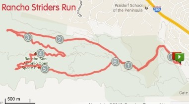 Striders Rancho Run